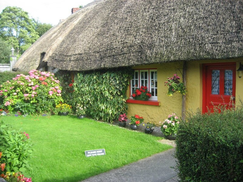 Yellow Cottage AdareIreland blog ma planete