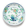 Coupe en porcelaine doucai, marque et époque yongzheng (1723-1735)
