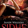 Sidhe #2 : eclats de chaos, sandy williams