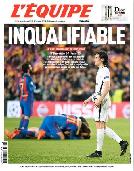 Inqualifiable-titre-l-equipe