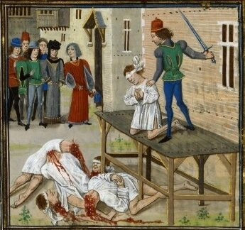 Female-Pirate-Jeanne-Lioness-of-Brittany-Execution-Olivier-de-Clisson