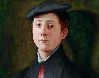 Pontormo_ 1529–1530, Portrait d'un joueur de luth - Copie