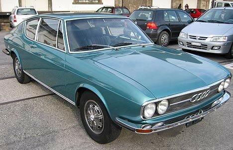 AUDI - Coupé 100 S - 1973