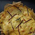 Gateau de pommes de terre à la raclette