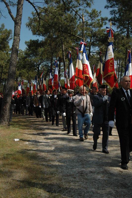 La forêt de drapeaux