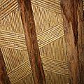 Plafond berbère : Kasbah Timidarte