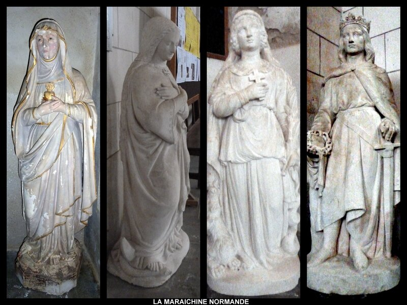 MONTAGE STATUES ST CHRISTOPHE