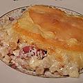 Croziflette ou tartiflette de crozet