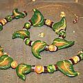 parure (3) feuilles
