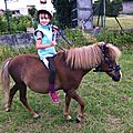 Balade à la campagne, balade sur notre poney ....