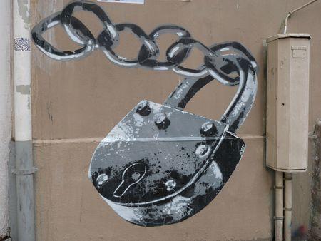Cadenas Street Art