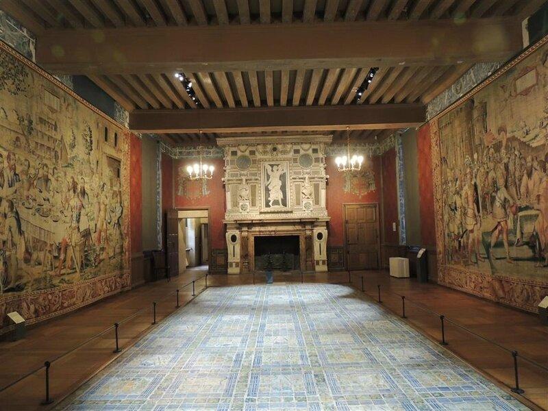 Appartements d'Henri II - la grande salle