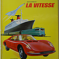 Livre album ... l'encyclopedie de la vitesse (1967)