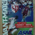 Avant match Nancy-Metz, saison 2002/03