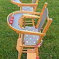 chaise ancienne en bois pour poupée VENDUES voir les autres albums pour les modèles en stock