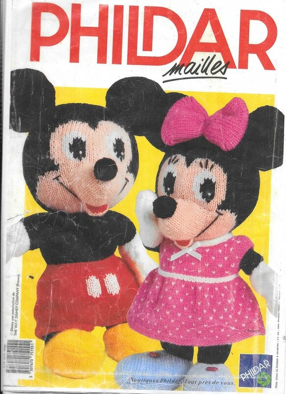 Phildar Mickey