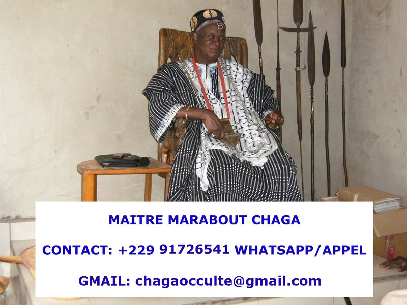 GRAND MAITRE MEDIUM MARABOUT CHAGA
