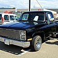 Le chevrolet c10 pick-up step side de 1976 (regiomotoclassica 2010)