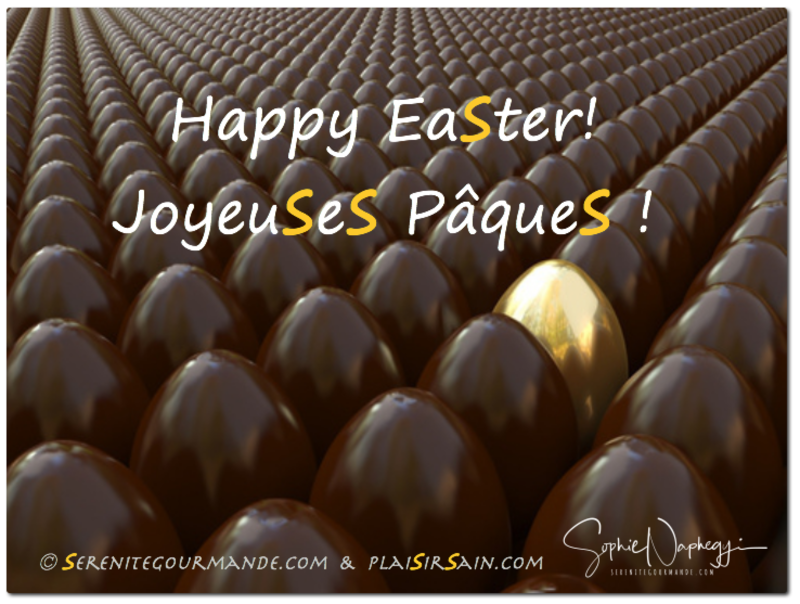 2017 Joyeuses Paques Happy Easter