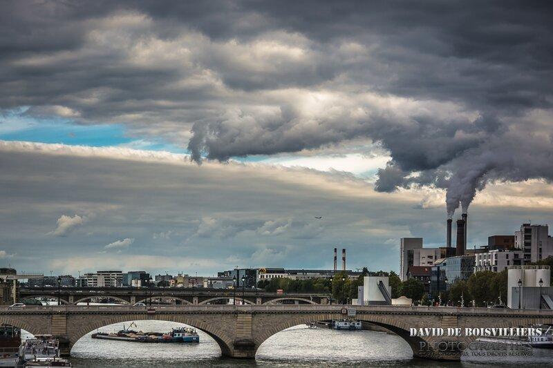 La France et ses grandes Métropôles (Ici : Paris), coeurs de pollutions