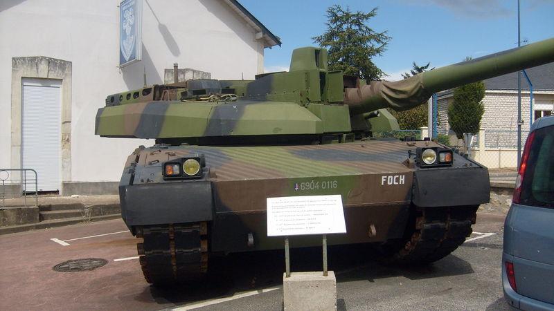 prototype du Leclerc, baptisé Foch.