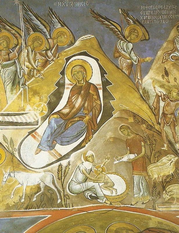Nativité - LAGOUDHERA - CHYPRE