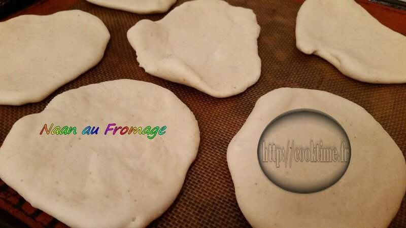 Naan au Fromage au Thermomix 4