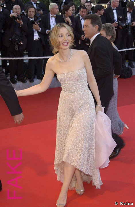 Julie Delpy, robe transparente