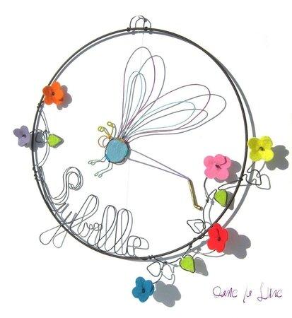 mobile-naissance-été-libellule-fildefer