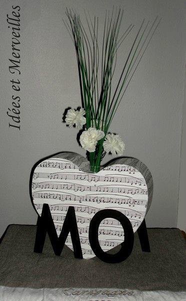 une d coration de table originale sur le th me de la musique idees et merveilles. Black Bedroom Furniture Sets. Home Design Ideas