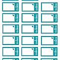 PLANCHE 98 TICKET TODAY TURQUOISE