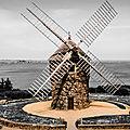 Moulins à vent en bretagne