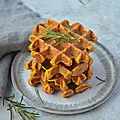 Gaufres carotte/potimarron