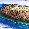 Cake au nutella et citron