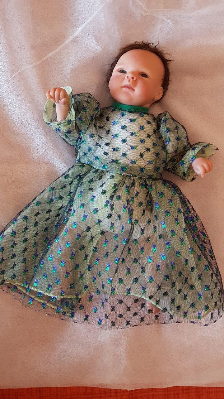 146 Robe pour mini reborn de 35/40 cm