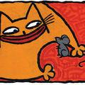Le vieux chat et la jeune souris