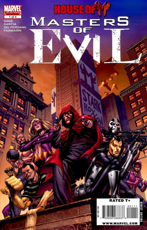 house of M masters of evil 01