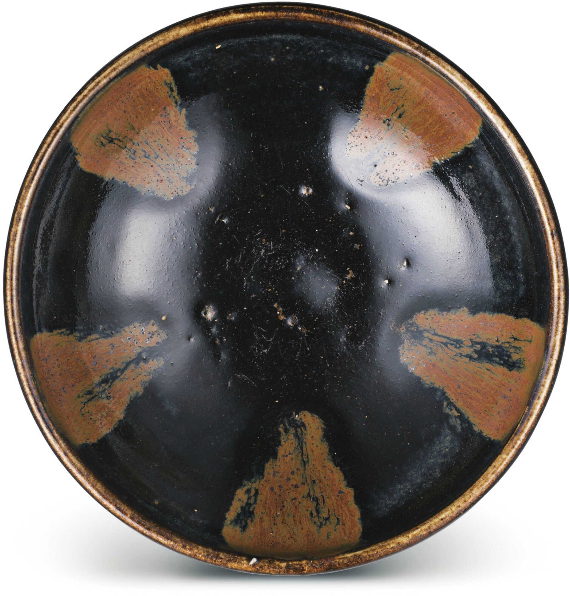A Henan black-glazed bowl, Song dynasty