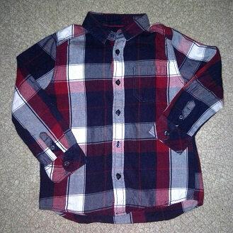 chemises à carreaux garçon