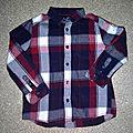 *chemise garçon, 6 ans