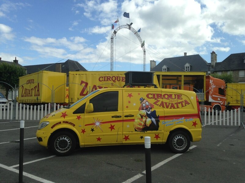 cirque Thierry Zavatta place Carnot Avranches juillet 2015