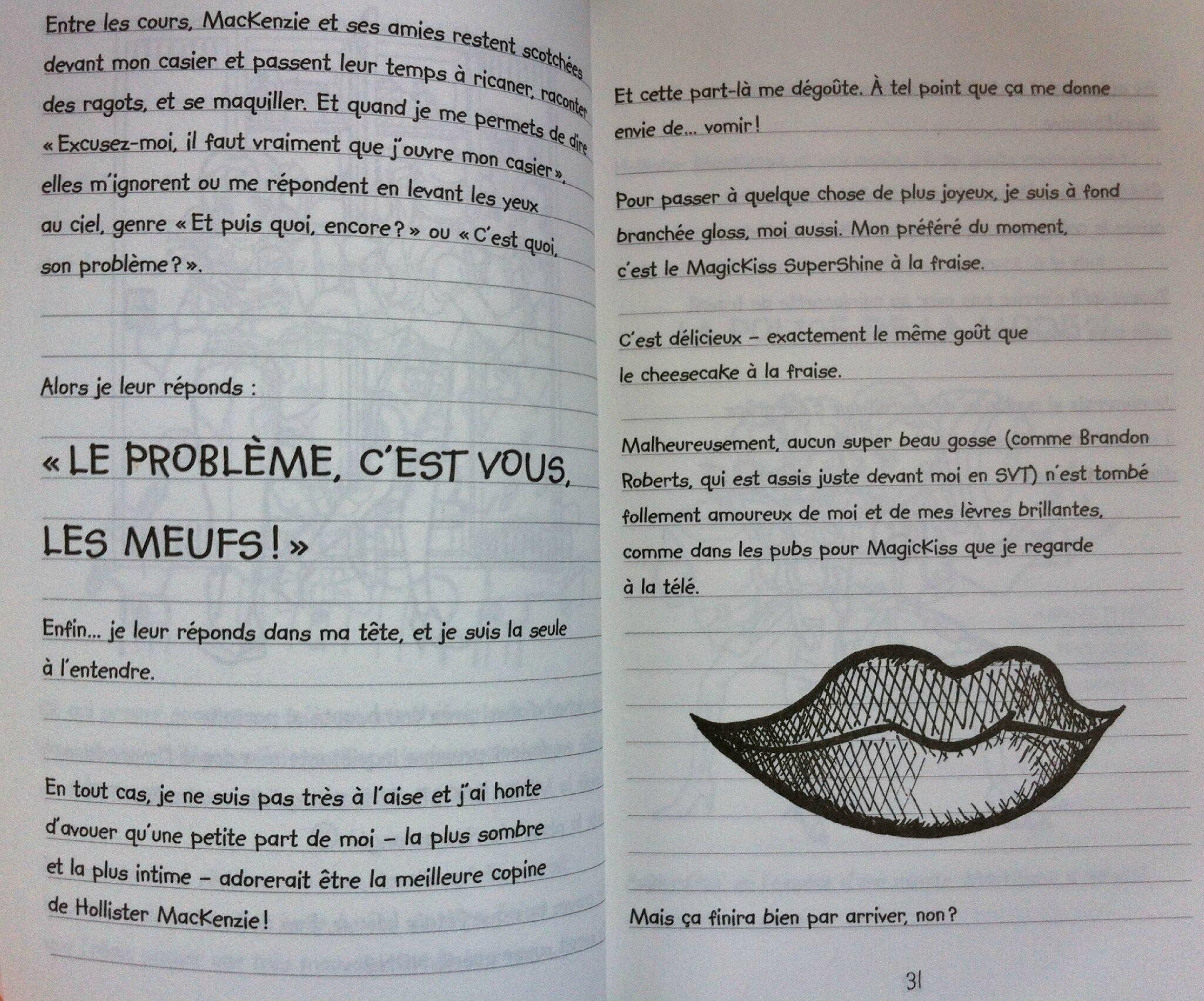 Journal D Une Grosse Nouille Calypso