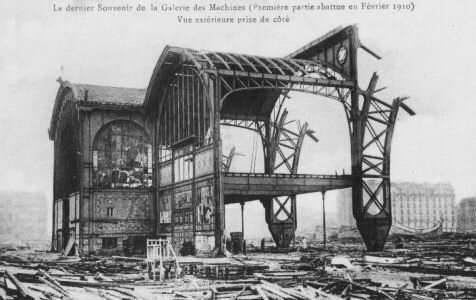1910_Destruction galerie des machines