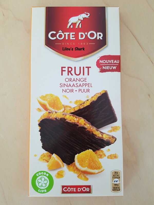 cote d'or chocolat fruit