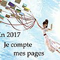 Je compte mes pages – challenge 2017