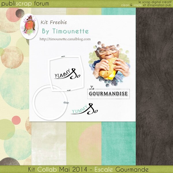 Preview Kit Escale Gourmande by Timounette