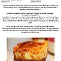 cheesecake chocolat blanc et Granola