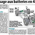 Batteries 48 volts