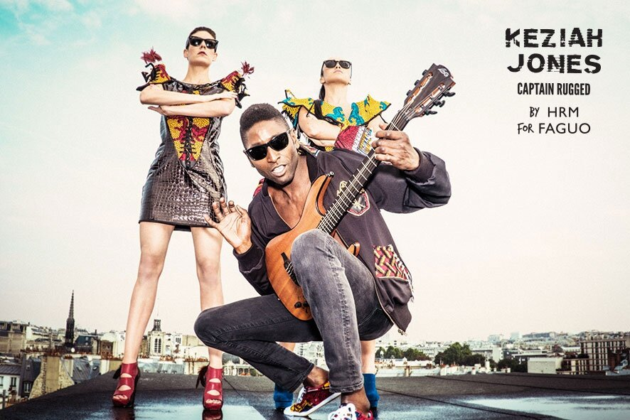 FAGUO x Keziah Jones : une collab' afro-rock !