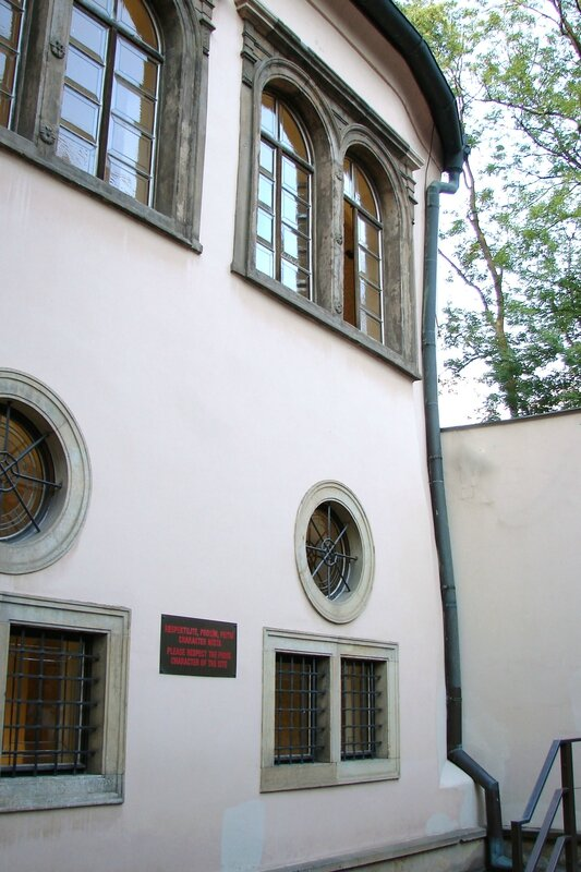 Prague synagogue Pinkas 9